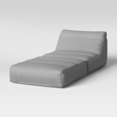 Fold-Out Lounge Seat Gray - Room Essentials™