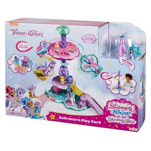Fisher-Price Nickelodeon Shimmer and Shine Teenie Genies Zahracorn play park