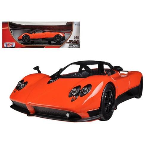 pagani zonda f orange 1/18 diecast car modelmotormax : target