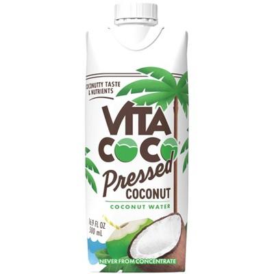 Vita Coco Coconut Water with Pressed Coconut - 16.91 fl oz Carton