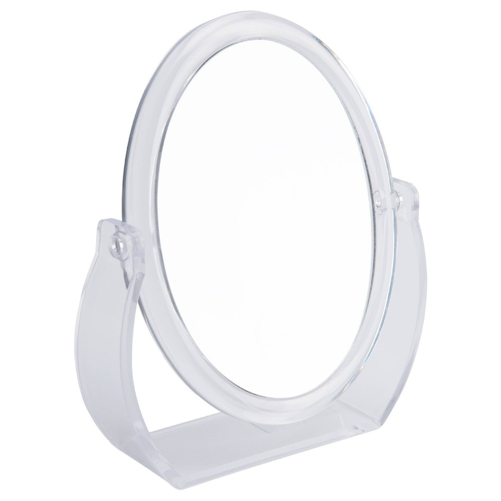 "Image of ""8"""" Vanity Rubberized Mirror 1X-10X Magnification Clear - Home Details"""