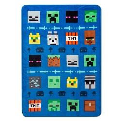 Minecraft Creeper Printed Blanket