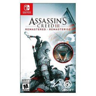 Assassins Creed III: Remastered - Nintendo Switch