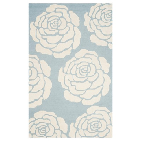 Connor Area Rug - Blue / Ivory (8' x 10') - Safavieh® - image 1 of 2