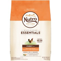 Nutro Wholesome Essentials Small Breed Adult Chicken & Rice Dry Dog Food - 15lb