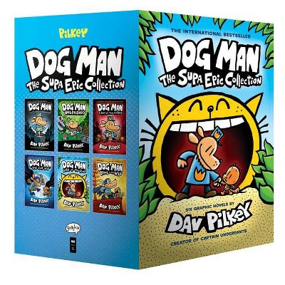 Dog Man: The Supa Epic Collection - by Dav Pilkey (Mixed media product)