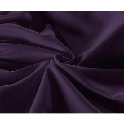 De Moocci Easy-On Easy-Off Blushed Microfiber Ruffled Bed Skirt