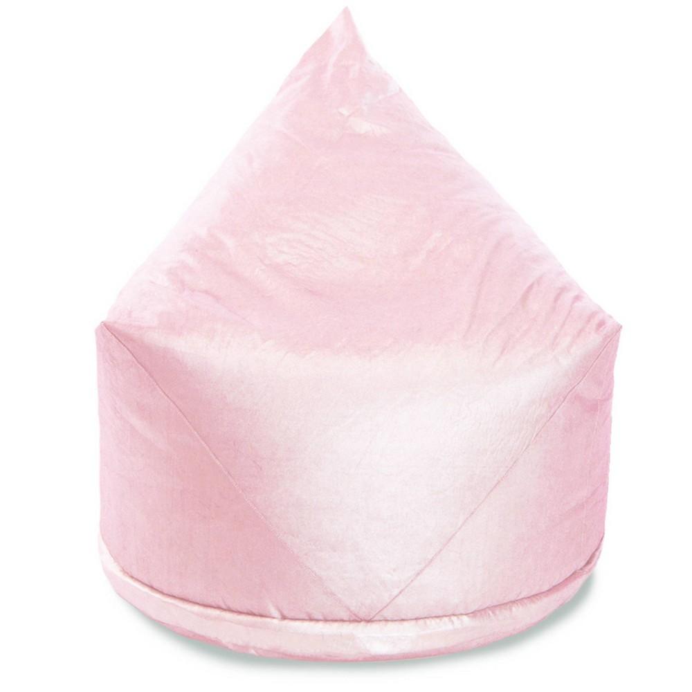 Aurora Cotton Metallic Storage Lounger Light Pink - Mimish