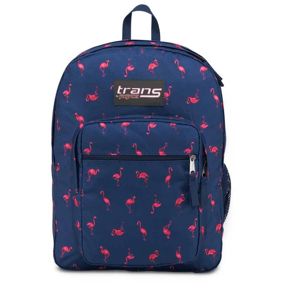 Trans by JanSport 17 SuperMax Backpack - Flamingo, Blue
