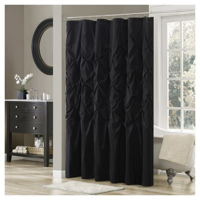 Shower Curtain Solid Black