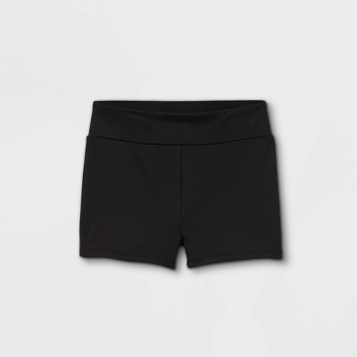Girls' Gymnastics Shorts - Cat & Jack™ Black
