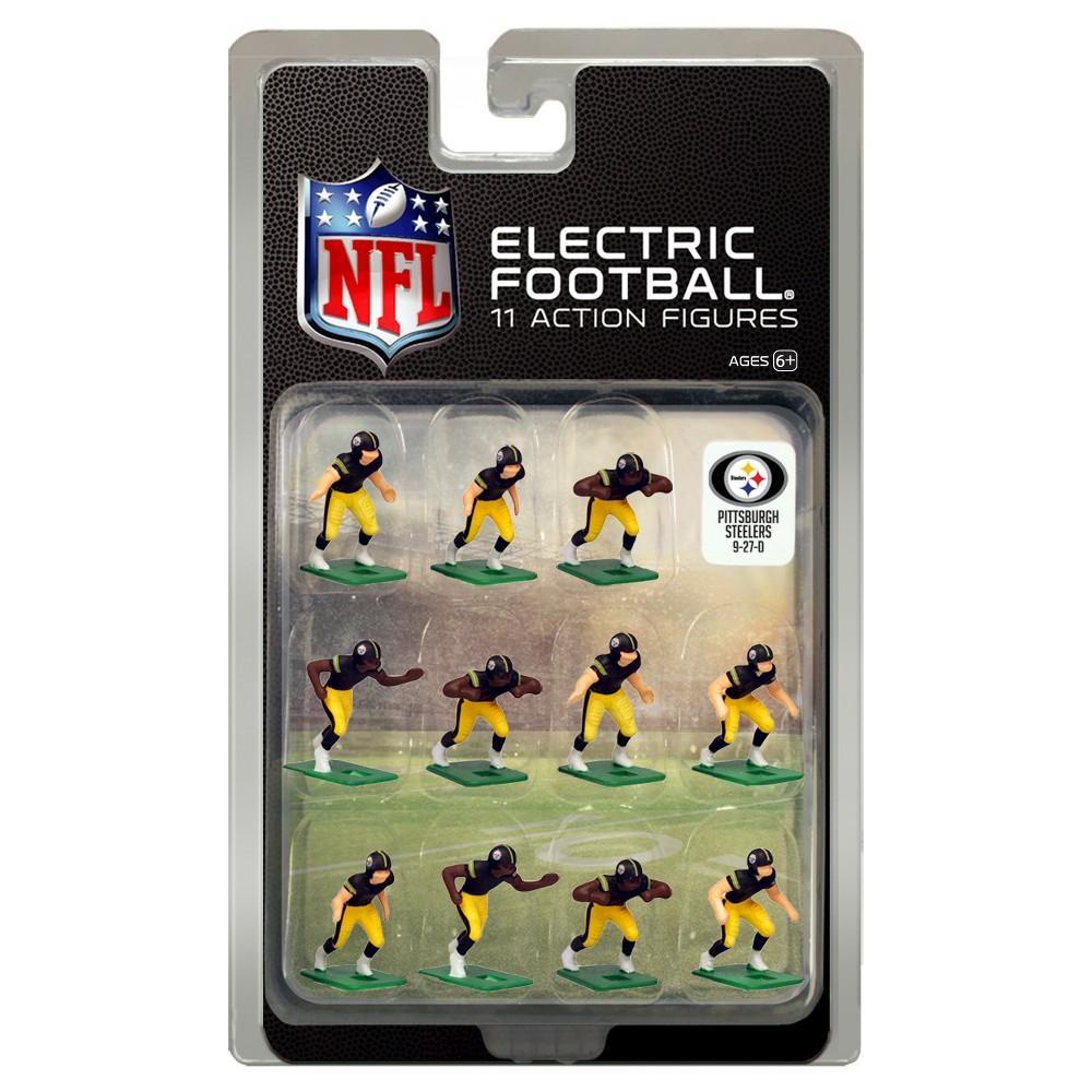 Nfl Pittsburgh Steelers Tudor Games Home Uniform Electric Football Action Figure Set