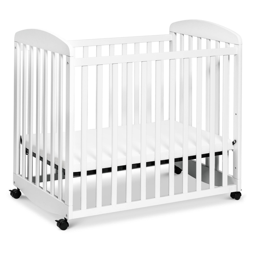 Image of DaVinci Alpha Mini Rocking Crib - White