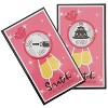 60-Pack Scratch Off Card Bridal Shower Games, Bachelorette Party Engaging Game Cards, Ring & Champagne Glasses Design in Pink - image 2 of 4