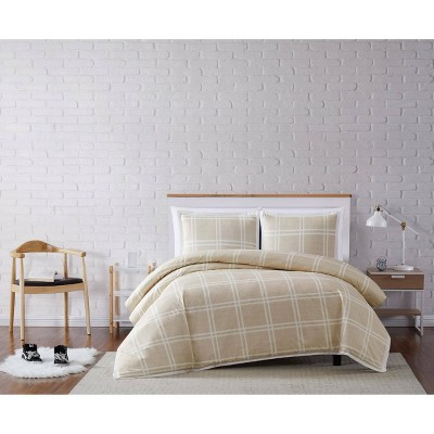 Truly Soft Everyday Leon Plaid Duvet Cover Set