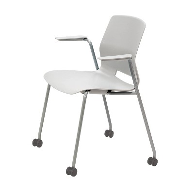 Lola Stacking Armchair with Casters - Olio Designs