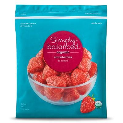 Organic Frozen Strawberries - 48oz - Simply Balanced™