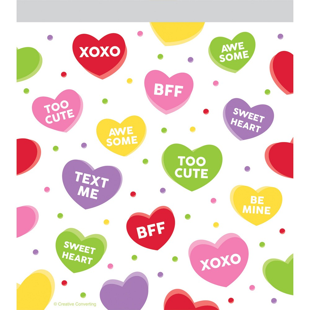 Image of 10ct Candy Hearts Favor Bag