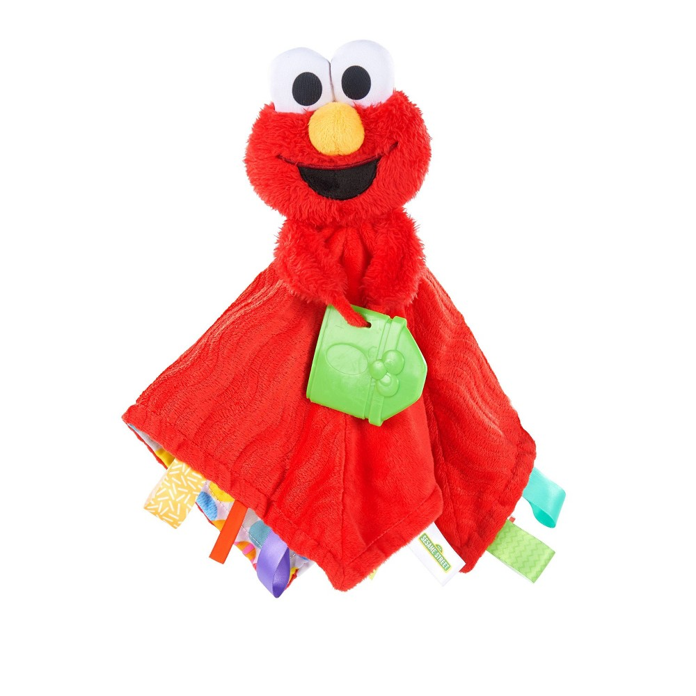 Image of Bright Starts Snuggles with Elmo Baby's First Soothing Blanket