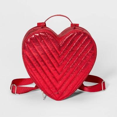 Girls' Heart Backpack - Cat & Jack™ Red