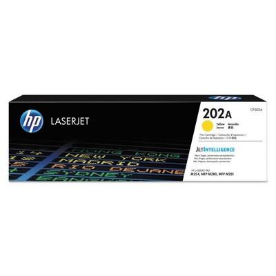 HP 202A LaserJet Toner Cartridge - Yellow (CF502A)