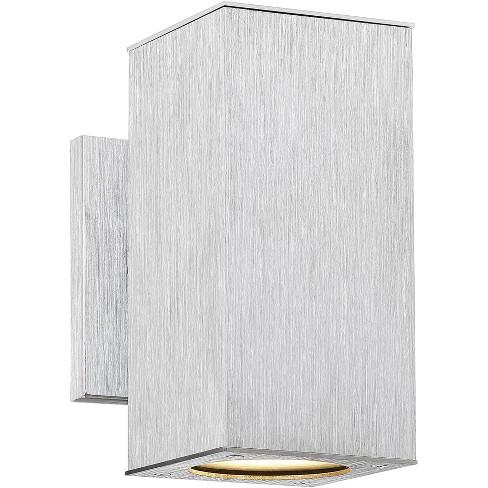 Possini Euro Design Modern Outdoor Wall, Modern Outdoor Wall Lights Silver