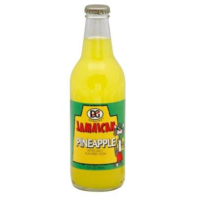DG Ting Pineapple Soda - 12 fl oz Glass Bottle