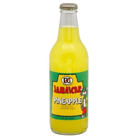 DG Ting Pineapple Soda - 12 fl oz Glass Bottle - image 1 of 3