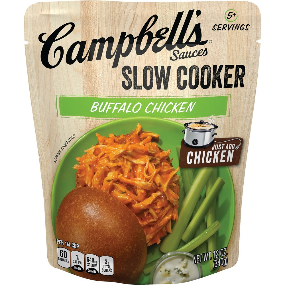 Campbell's Slow Cooker Sauces Buffalo Chicken 12 oz