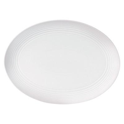 Gordon Ramsay by Royal Doulton Maze White Oval Platter