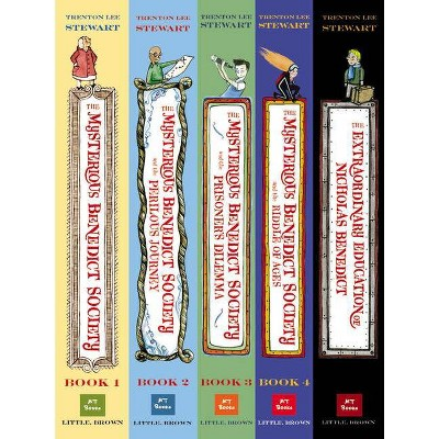 The Mysterious Benedict Society Paperback Boxed Set - by  Trenton Lee Stewart
