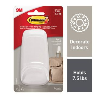 Command™ - Wall Hook - White