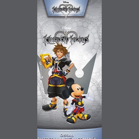 "Kingdom Hearts Sora & Mickey 4""x8"" Color Decal - image 1 of 1"
