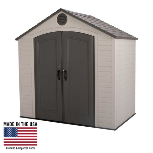 Outdoor Storage Shed 8' x 5' - Desert Sand - Lifetime - image 1 of 35