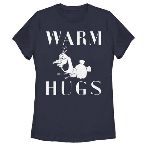 Women's Frozen 2 Olaf Warm Hugs T-Shirt - image 1 of 3