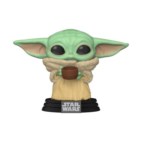 Funko POP! Star Wars: The Mandalorian - The Child with Cup - image 1 of 2