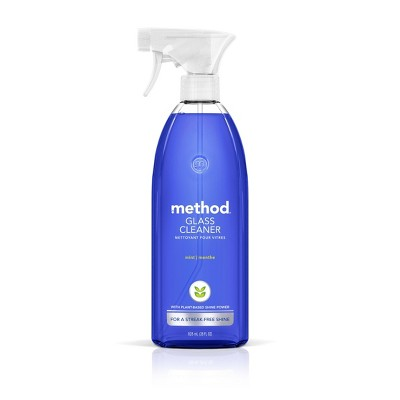 Method Cleaning Products Glass + Surface Cleaner Mint Spray Bottle 28 fl oz