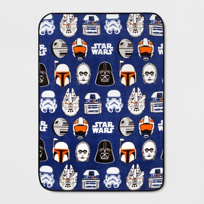 Star Wars 46 x60  Throw Blanket