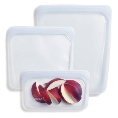 Stasher Trio Food Storage Container - 3ct