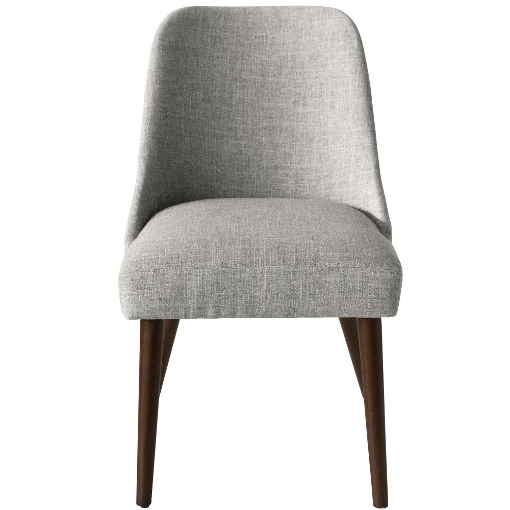 Geller Modern Dining Chair Pumice Gray Linen - Project 62