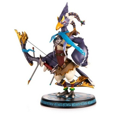"""First 4 Figures: The Legend of Zelda: Breath of the Wild - 11"""" PCV Revali Statue"""