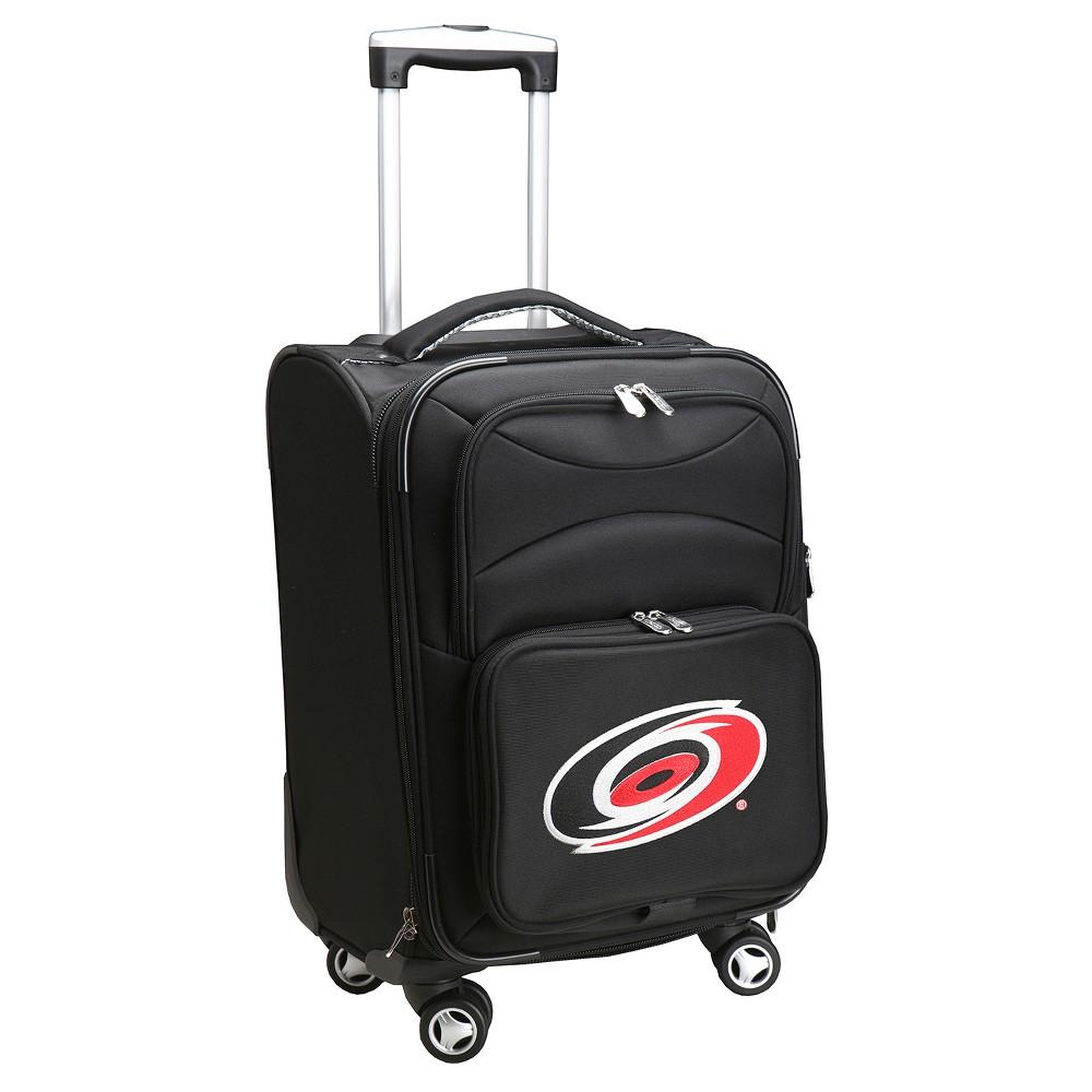 NHL Carolina Hurricanes Mojo Spinner Carry On Suitcase