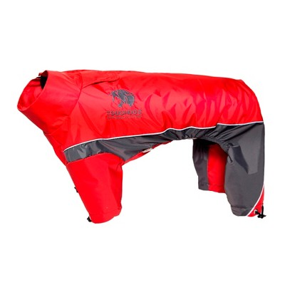 Touchdog Quantum-Ice Full-Bodied Adjustable and 3M Reflective Dog and Cat  Jacket with Blackshark Technology - Red