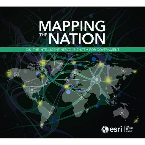 Mapping the Nation - (Paperback) - image 1 of 1