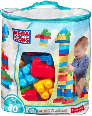 Mega Bloks First Builders Big Building Bag - 80pc
