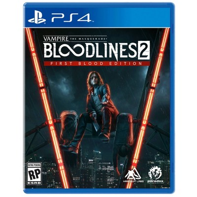 Vampire The Masquerade: Bloodlines 2 First Blood Edition - PlayStation 4
