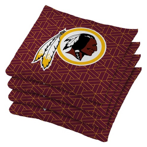Fantastic Nfl Washington Redskins 4Pk Bean Bag Set Red Uwap Interior Chair Design Uwaporg