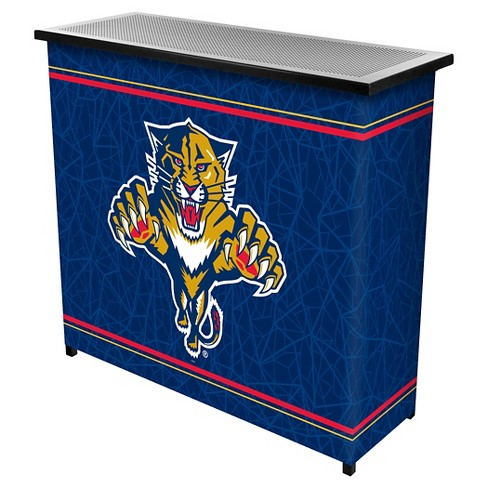 Florida Panthers 2 Shelf Portable Bar with Case - image 1 of 1