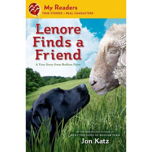 Lenore Finds a Friend - (My Readers) by  Jon Katz (Hardcover) - image 1 of 1