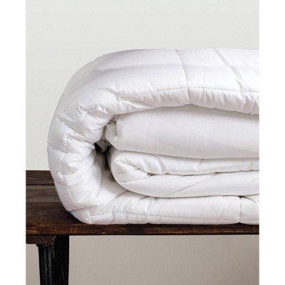 King Hypoallergenic Rayon from Bamboo Down Alternative Comforter White - Cariloha